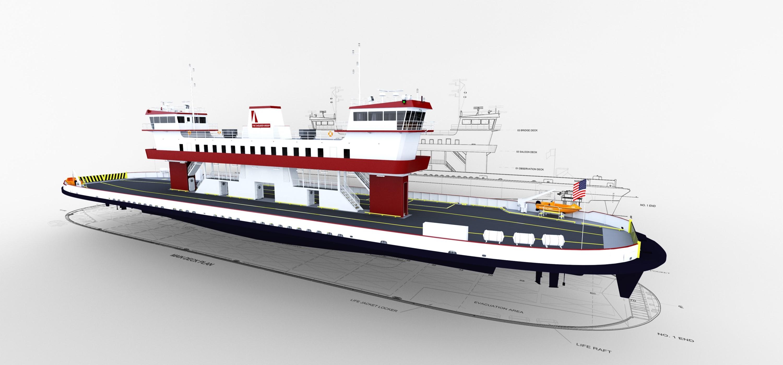 Ferry Rendering