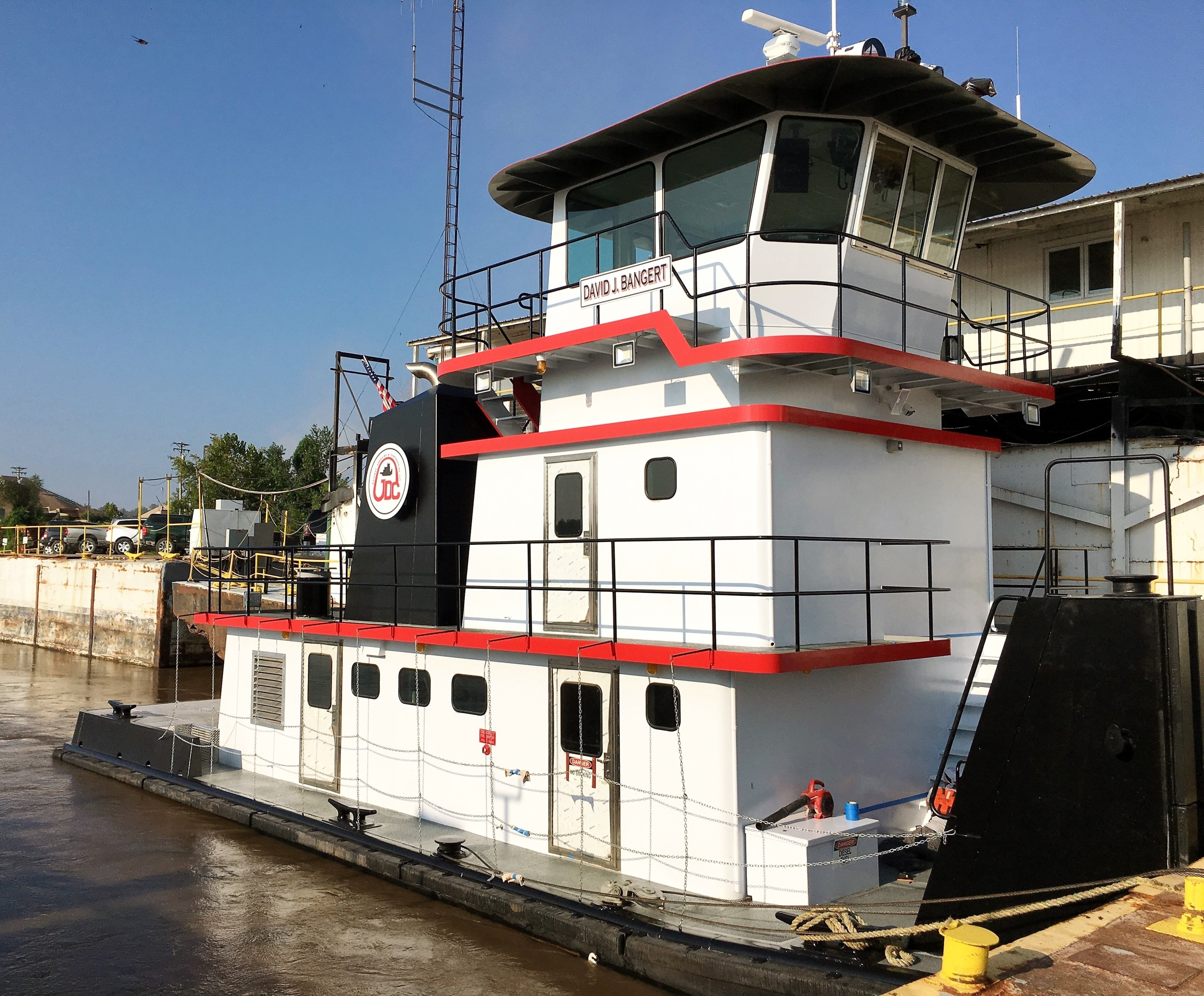 Commercial inland towboat